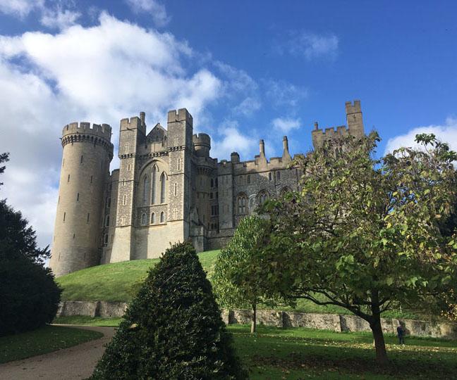 exploring arundel castle