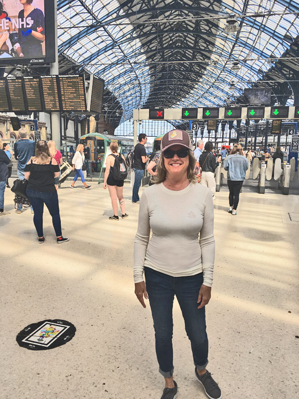 Travel by Train in England